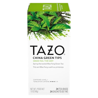 TAZO® Hot Tea China Green Tips 6 x 24 bags - We've got our own thing brewing the TAZO® Hot Tea China Green Tips (6 x 24 bags): dare to be different