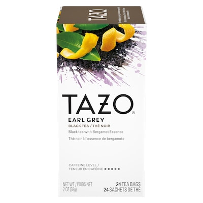 TAZO® Hot Tea Earl Grey 6 x 24 bags - We've got our own thing brewing the TAZO® Hot Tea Earl Grey (6 x 24 bags): dare to be different