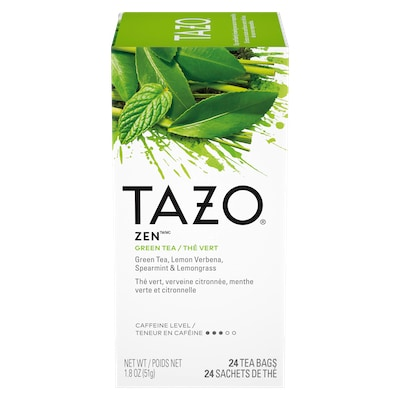 TAZO® Hot Tea Zen Green 6 x 24 bags - We've got our own thing brewing the TAZO® Hot Tea Zen Green (6 x 24 bags): dare to be different