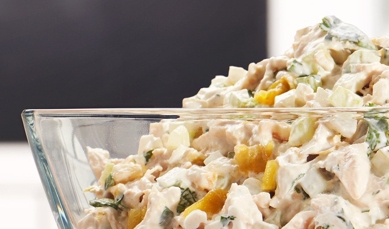Chicken Salad with Green Chile