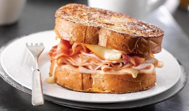 Fancy Footwork French Toast Sandwich