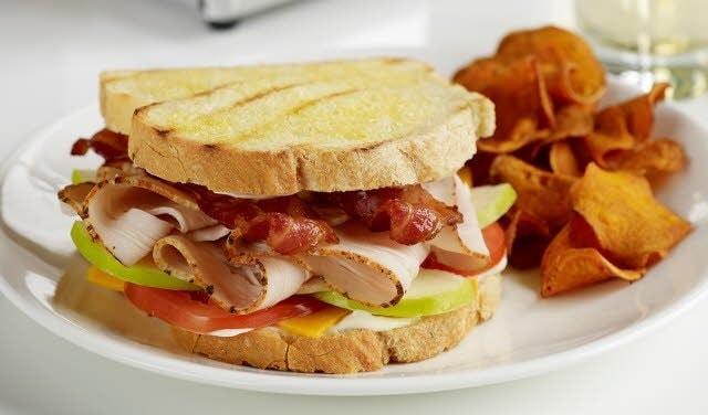 Turkey and Apple All-Star Sandwich