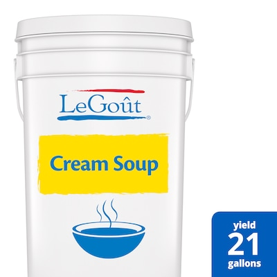 LeGout® Cream Soup Base 1 x 22.5 lb