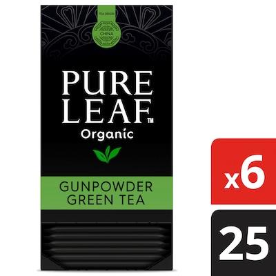 Pure Leaf® Organic Gunpowder Green Hot Tea Bags 6 x 25 bags -