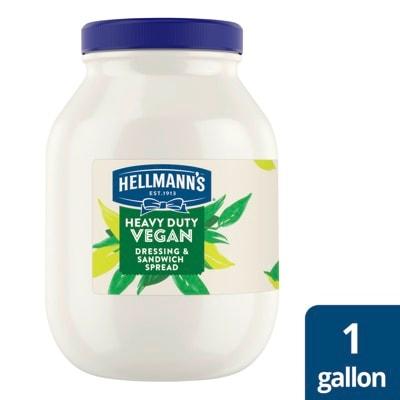 Hellmann's® Heavy Duty Vegan Mayo 4 x 1 gal -