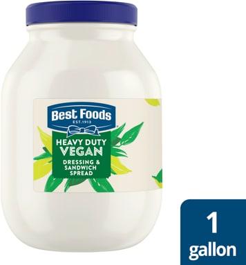 Best Foods® Heavy Duty Vegan Mayo 4 x 1 gal -