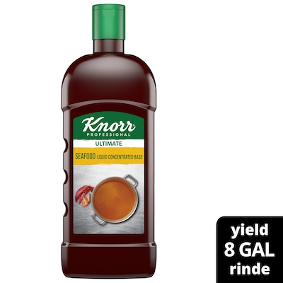 Knorr® Professional Ultimate Seafood Liquid Concentrated Base 4 x 32 oz -