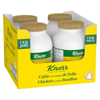 Knorr® Professional Caldo de Pollo/Chicken Bouillon 4 x 7.9 lb -