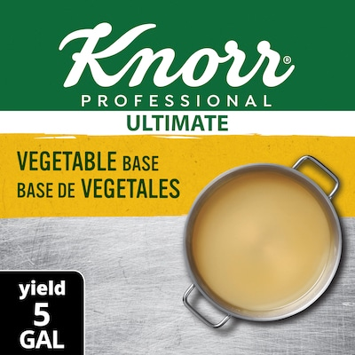 Knorr® Professional Ultimate Vegetable Bouillon Base 6 x 1 lb -