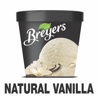 Breyers® Original Natural Vanilla Ice Cream 8 x 16 oz -