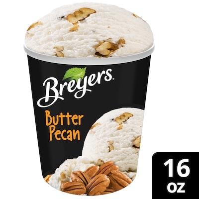 Breyers® Frozen Dairy Dessert Butter Pecan 8 x 16 oz -