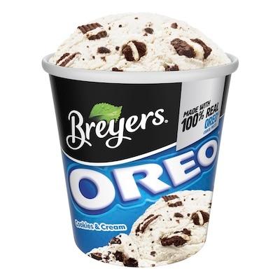 Breyers® Frozen Dairy Dessert Oreo® Cookies & Cream 8 x 16 oz -