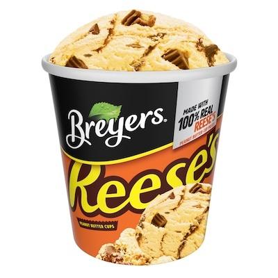 Breyers® Frozen Dairy Dessert Reeses's® Peanut Butter 8 x 16 oz -