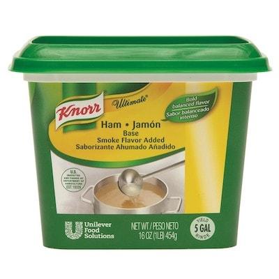 Knorr® Professional Ultimate Ham Bouillon Base 6 x 1 lb -