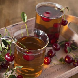Cherry, Mint and Hazelnut Tea