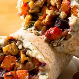 Good Call Vegetable Lentil Wrap